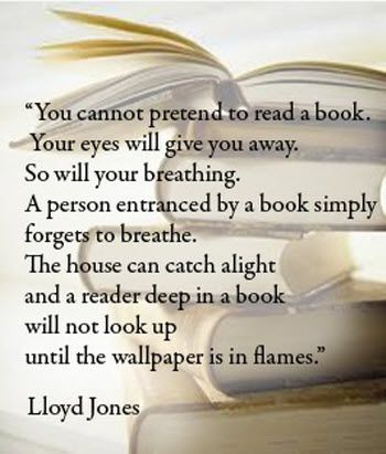 You cannot pretend to read a book, your eyes will give you away. So will your breathing