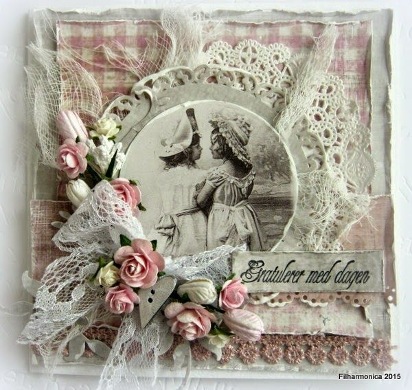 Live & Love Crafts' Inspiration and Challenge Sweet roses