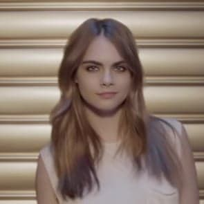 Pin for Later: Cara Delevingne Shows Off Her Drumming Skills For YSL