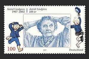 L is for Lindgren - Astrid Lindgren, author of Pippi Longstocking, Emil and much more!