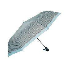 Biggbrella 10319Q67G Otomatik Şemsiye Çizgili Mavi