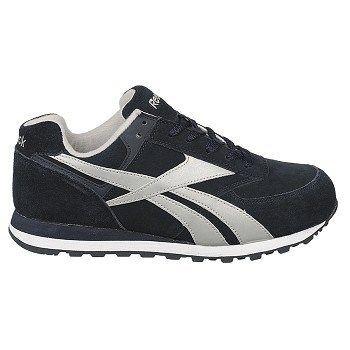 Reebok Work Men's Leelap Medium/Wide Steel Toe Sneakers (Navy Blue)