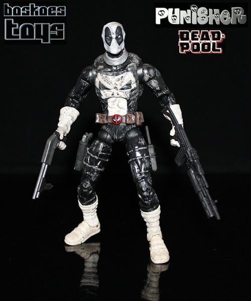 Punisher DeadPool Action Figure.
