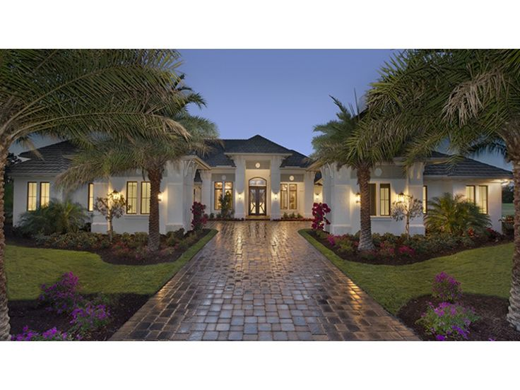 Floor Plan AFLFPW77689 Is A Beautiful 4817 Square Foot + Mediterranean  Modern Plans Home Design With Part 51