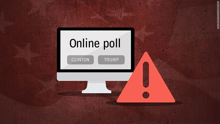 News outlets stand by their 'bogus' post-debate 'polls'. | Donald Trump has been touting the results of unscientific online voting.