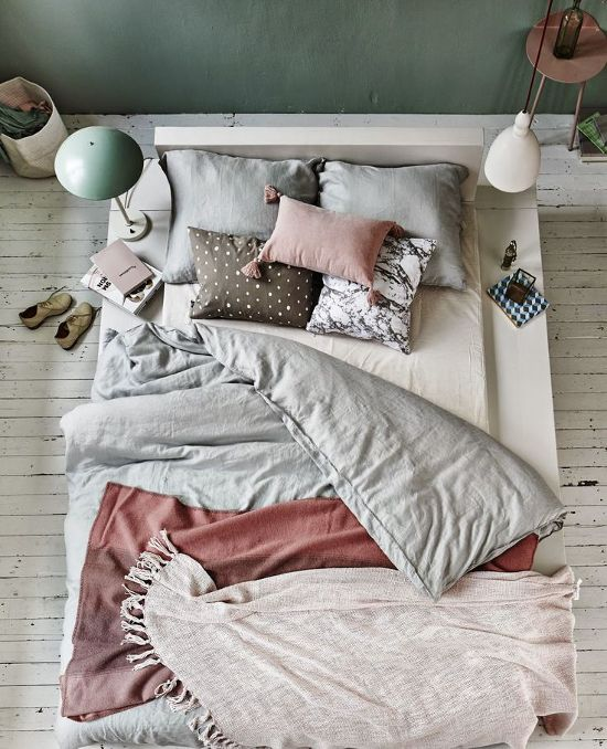 un due tre ilaria  6 INSPIRATIONS FOR A MESSY BED IN STYLE