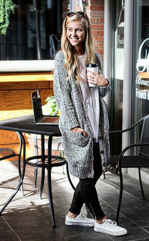 warm up oversized cardigan