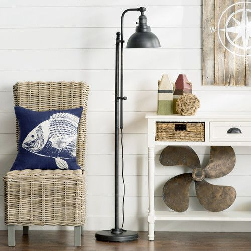 "Found it at Wayfair - Rustic Adjustable Height 65"" Task Floor Lamp"