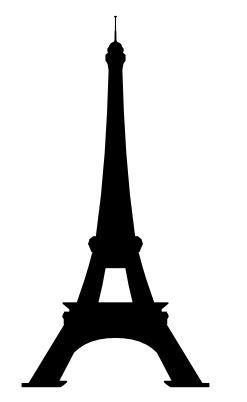 Eiffel Tower free svg file