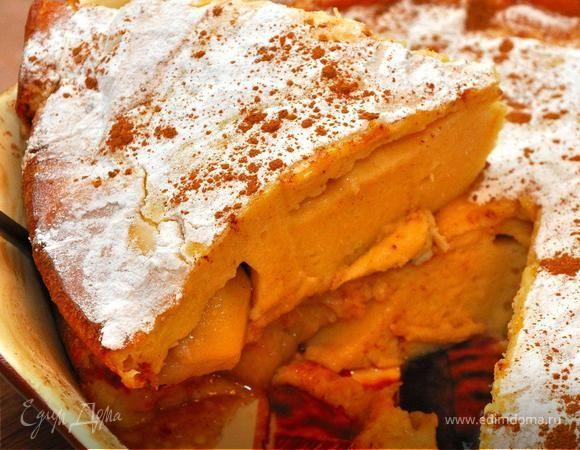 Воскресный Бранч (Лингвини по-сицилийски с мидиями и скумбрией, Быстрый яблочный пирог)