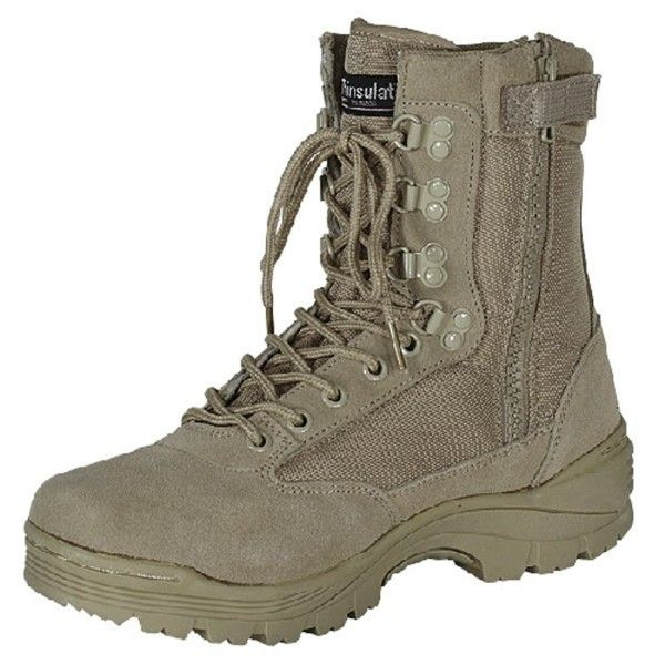 Black Tactical Boot With Ykk Zipper Easy On Off Black C01105pr767 Voodoo Tactical Tactical Boots Boots