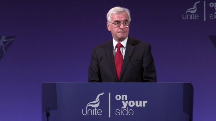 John McDonnell MP at the Unite Policy Conference
