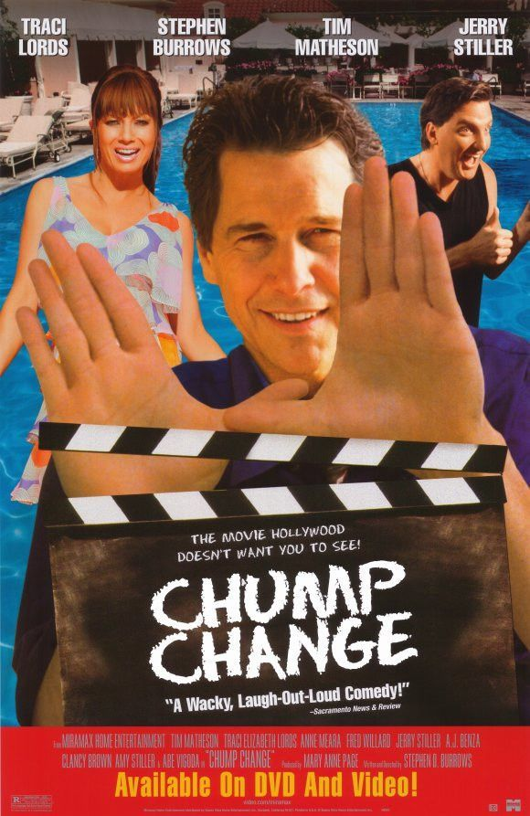 Chump Change 2000 Movie Poster 27X40 Used Traci Lords, Stephen Burrows, Tim Matheson, Jerry Stiller