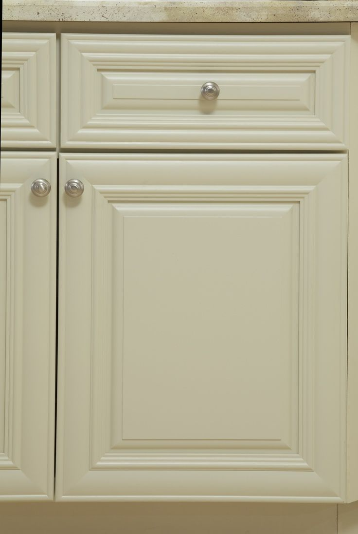 Cabinets To Go B. Jorgsen & Co. Victoria door style in Ivory