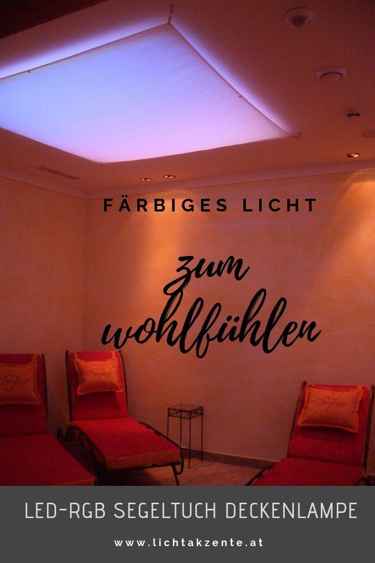 Lichtsegel Led Rgb Ww Deckenleuchte Mit Farbwechsel Lichtsegel Beleuchtung Wohnzimmer Decke Led