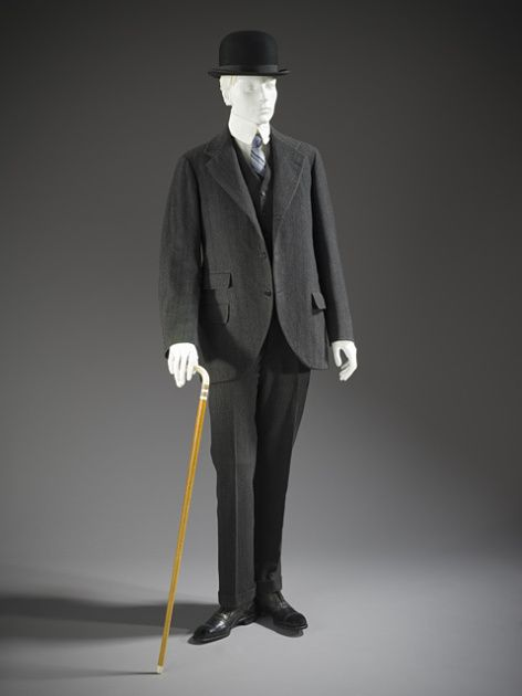 Lounge Suit 1911 The Los Angeles County Museum of Art - OMG that dress!