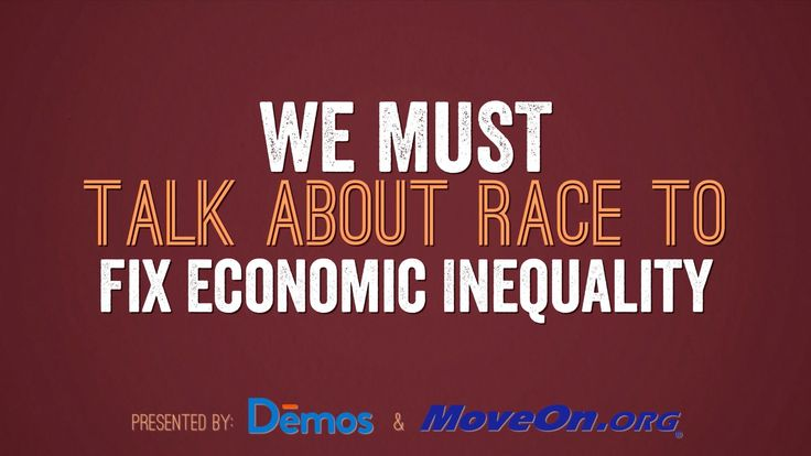"We Must Talk About Race to Fix Economic Inequality | Published Mar 12, 2016 | https://youtu.be/caarVAS40jQ | ""Demos President Heather McGhee and UC Berkeley Law Professor and author of Dog Whistle Politics Ian Haney López tell the story of how racism fuels economic inequality and what we can do about."" This video was produced in partnership by Demos and MoveOn. This is an excellent video and everyone will benefit by watching it. Click to watch and share video (4:13)."