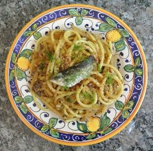 Pasta con le sarde (Pasta with sardines) - The national dish of Sicily - Our Italian Table