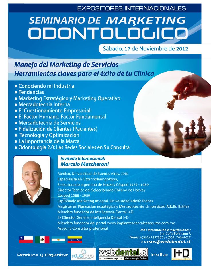 Seminario de Marketing Odontologico | webdental.cl | Portal ... SEO and Internet Marketing is the best combination!
