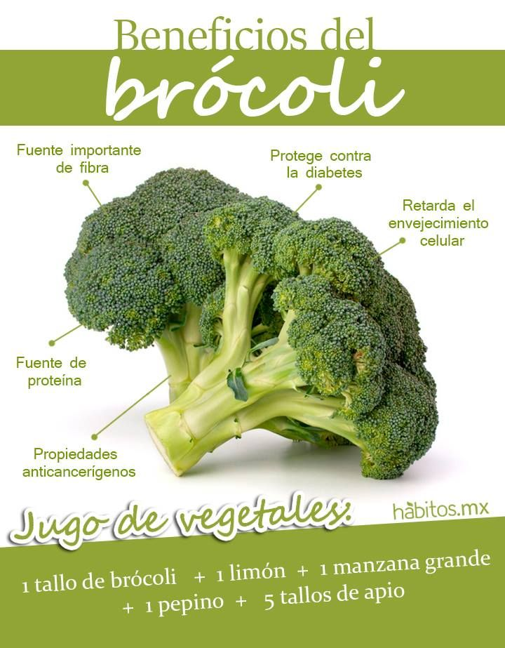 BENEFICIOS EL DELICIOSO Y NUTRITIVO BRÓCOLI