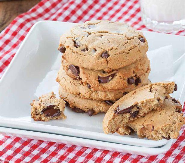Cookies de Chips de Chocolate de Danielle Walker