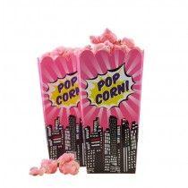 Pop Art Girl Popcorn Tüten