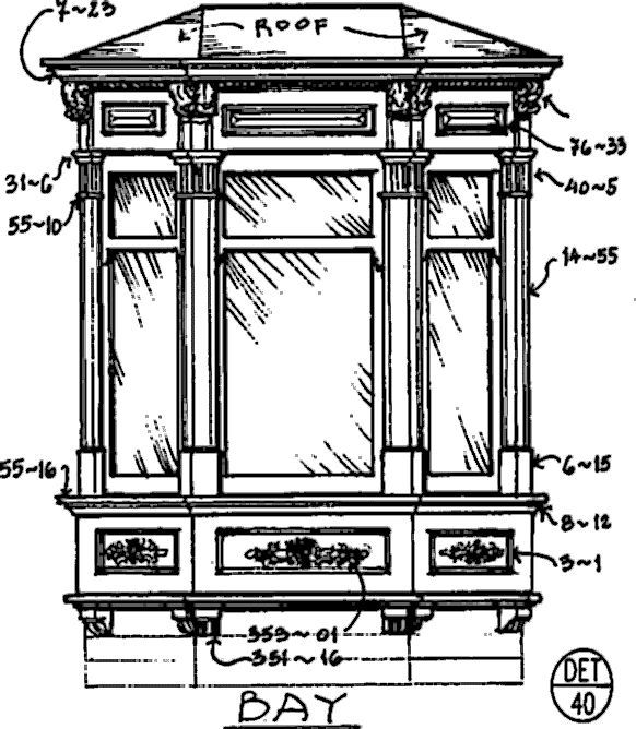17 best images about victorians in san francisco work for Bay window plan detail