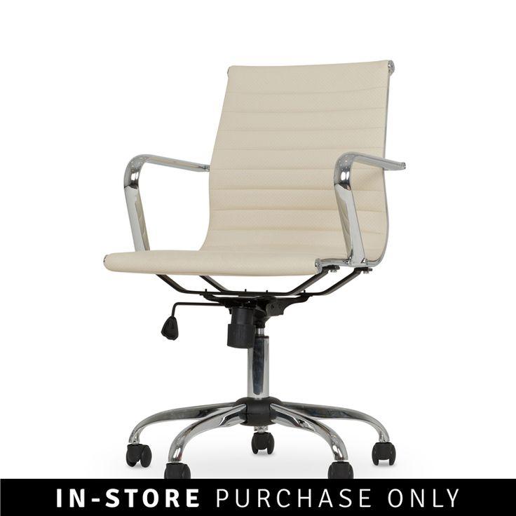 elegant office chair beige