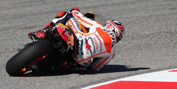 Marquez and Pedrosa miss front row by a fraction of a second | Potret Bikers.com