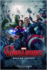 """Vingadores: Era de Ultron (2015) ★★★★ - Melhor filme da série """"Vingadores"""". Novos personagens complexificam a história. Muito legal."""