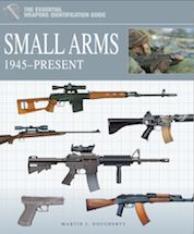 The Essential Identification Guide: Small Arms 1945–Present by Martin J Dougherty, Amber Books, is the definitive study of the small arms equipment of warring nations from the end of World War II, through the Cold War to the current conflict in Afghanistan. Arranged chronologically and by theatre of war, the book describes in depth the various models in service with each force, noting the changing uses of small arms and the development of the role of high-powered sniper rifles, such as the…