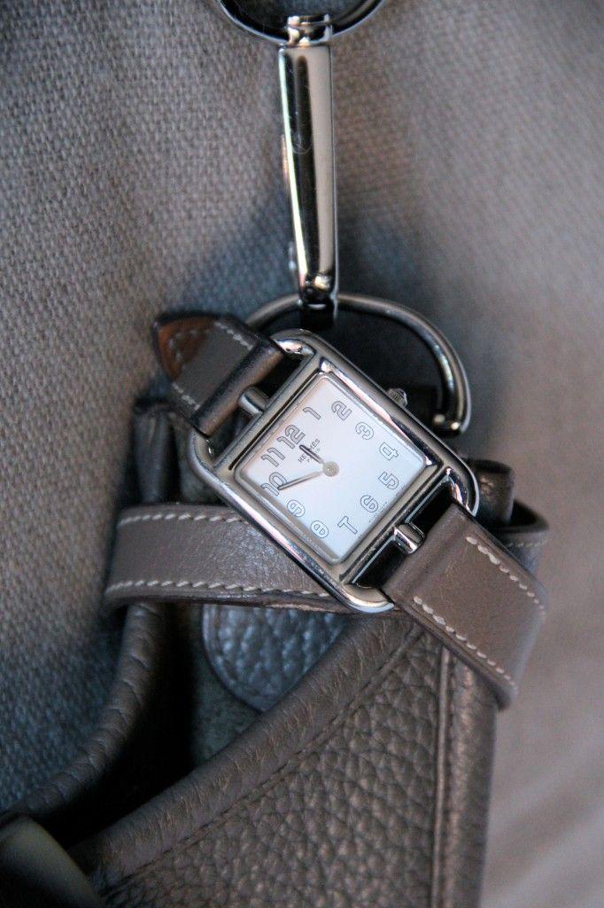 Gorgeous Grey: {Oliver Peoples} {Hermes} {Heidi Wynne} Hermes Cape Cod Watch