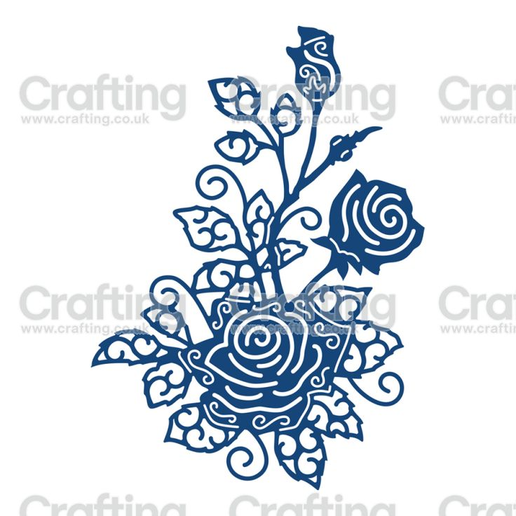 Tattered Lace Dies - English Rose