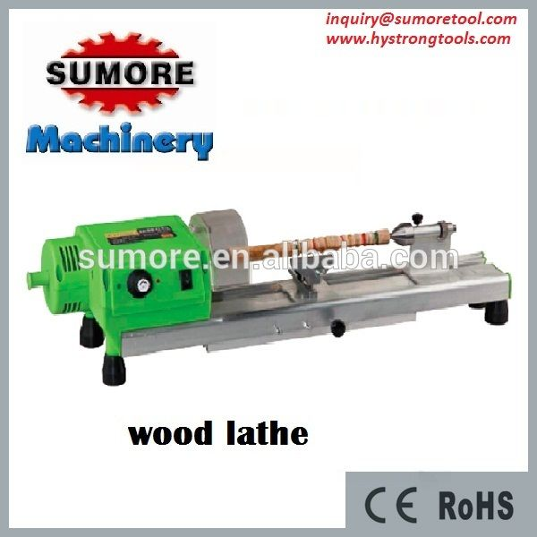 Mini wood lathe machine for sale in China