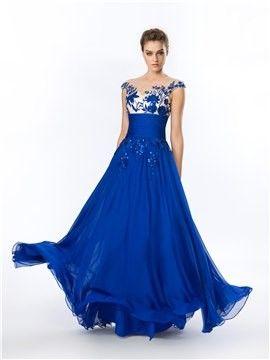 Modelos de vestidos para noche