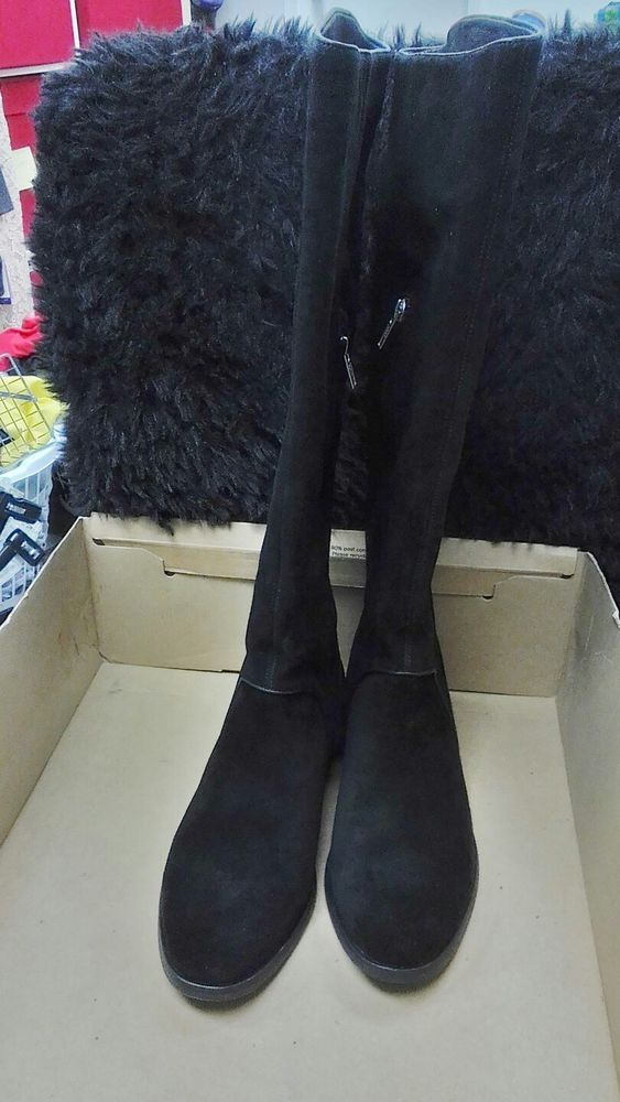 aac66a2bf17 NIB UGG WOMENS TALL BOOTS BLACK SUEDE GRACEN 11  fashion  clothing  shoes   accessories  womensshoes  boots (ebay link)