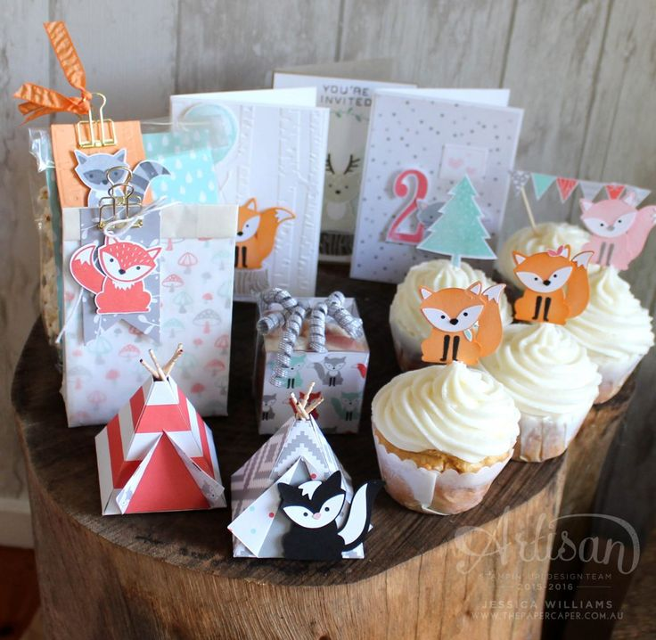 The A Little Foxy suite is perfect for parties! ~ Jessica Williams