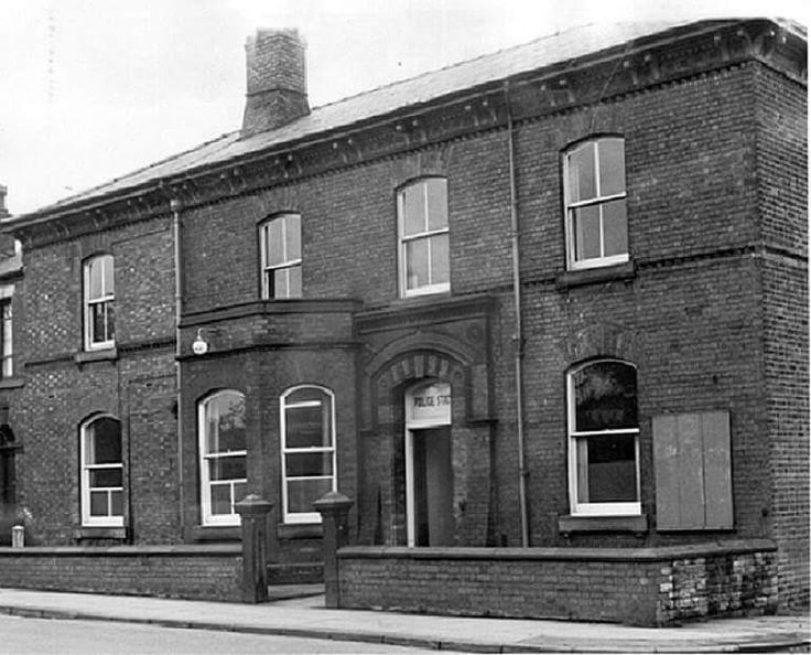 The old Police Station facing Victoria Park Manchester Road, Swinton