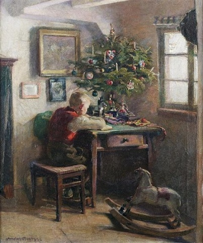 §§§ . Christmas Morning ~ Andreas Bach 1922