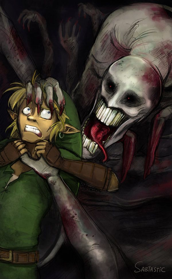 Dead Hands is my favorite mini boss :) #loz #Legend_of_zelda #ocarina_of_time