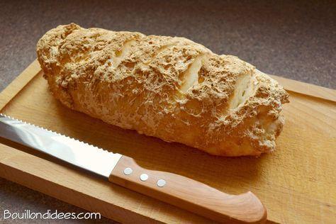 Enfin un vrai pain, sans gluten