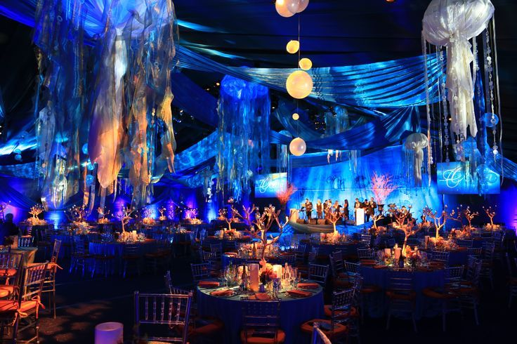 Under The Sea For This Gala In Greenwich Ct With