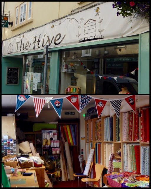 Creative Somerset: Sewing  Bees go to The Hive!