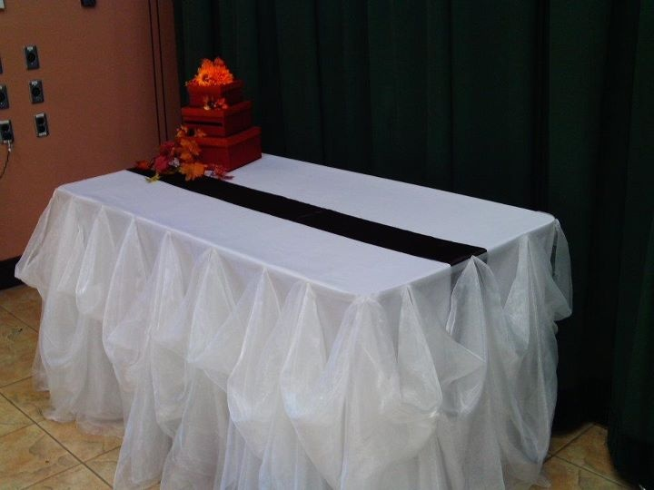 47 best skirting buffet tables images on pinterest wedding gift table with cinderella skirting and one of our custom card boxes by watchthetrailerfo