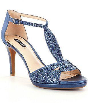 Alex Marie Seline Embellished Dress Sandals Evening