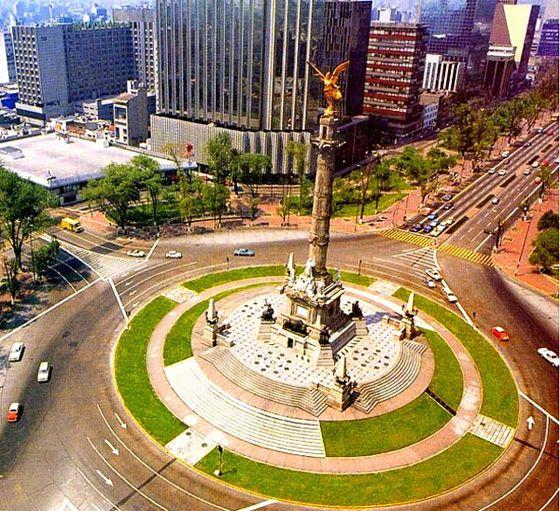 LA COLUMNA DE LA INDEPENDENCIA CIUDAD DE MEXICO