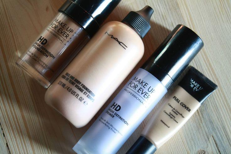 Permanent EyelineMAC   Miglior fondotinta: Make Up For Ever HD Foundation