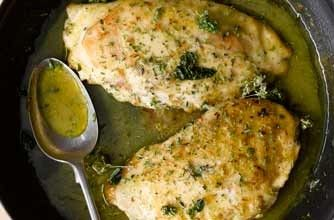 Chef Gennaro Contaldo's stuffed chicken breasts recipe.