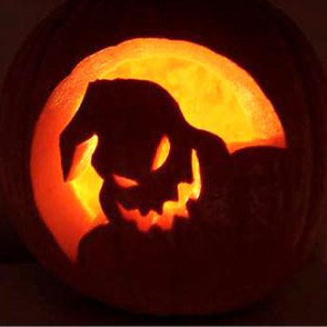 Oogie Boogie from The Nightmare Before Christmas Pumpkin