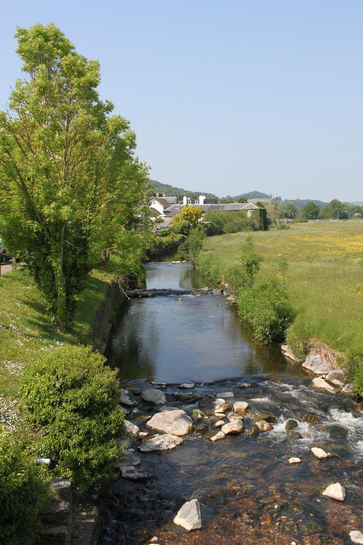 Colyton - river walk.